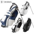 【2019年モデル】VESSEL ベゼル キャディバッグ CADDY BAG ゴルフ プレーヤー スタンド Player Stand Bag