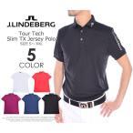 (厳選セール)ジェイリンドバーグ J LINDEBERG ゴルフ ツアー テック スリム TX ジャージー 半袖ポロシャツ