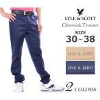 (在庫処分)ライルアンドスコット LYLE&SCOTT ゴルフパンツ チェスウィック パンツ 秋冬ウェアー あすつく対応