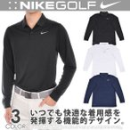 ナイキ Nike  長袖メンズゴルフウェア Dri-FIT ビ