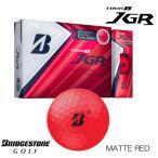 ブリヂストン TOUR B JGR ボール 1ダース (12球入)マットレッド エディション