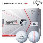 (日本正規品)キャロウェイ クロムソフト X LS ボール トリプルトラック ホワイト 1ダース(12球)2021