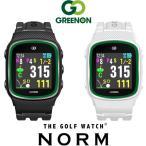 MASA GPSゴルフナビゲーション ザ ゴルフウォッチ ノルム ブラック G015B