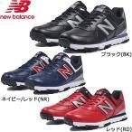 ニューバランス ゴルフシューズ スパイクレス MGS574BK BK 25.0