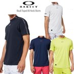 (セール)2020秋冬 オークリー ゴルフ スカル テープ ハイネック シャツ(FOA401632)半袖シャツ