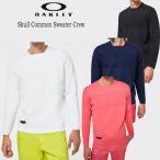 (セール)2020秋冬 オークリー ゴルフ スカル コモン クルーネック セーター(FOA401642)長袖セーター