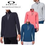 (セール)2020秋冬 オークリー ゴルフ スカル アロフト ウーブン ン LS モック 2.0(FOA401645)長袖シャツ