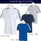 ショッピングTOMMY トミーヒルフィガー ゴルフ ショルダー ボーダー 半袖ポロシャツ(THMA816)2018春夏モデル