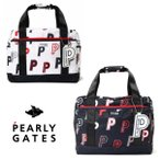 【NEW】PEARLY GATES パーリーゲイツ ランダムP柄 Pロゴチャーム付き ボストンバッグ ロッカーバッグ 053-0281904/20C