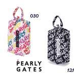 【NEW】PEARLY GATES パーリーゲイツ 落書き総柄 シューズケース<落書きシリーズ> 053-0284118/20D
