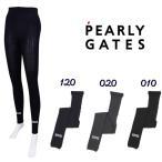 【NEW】PEARLY GATES パーリーゲイツ レディス ボックスロゴ 10分丈レギンス =JAPAN MADE= 053-1283800/21C【郵送料無料】
