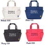 【NEW】PEARLY GATES パーリーゲイツ NEW BASIC ITEMS DEBUT! 2段ロゴ 定番系トート型カートバッグ 053-1981002/21A