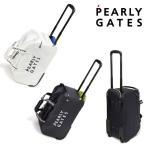【NEW】PEARLY GATES パーリーゲイツ NEW BASIC ITEMS DEBUT! 2段ロゴ キャスター付 ボストンバッグ キャリーケース 053-1981900/21B