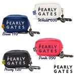 【NEW】PEARLY GATES パーリーゲイツ NEW BASIC ITEMS DEBUT! 2段ロゴ 定番系ボールポーチ 053-1984014/21A