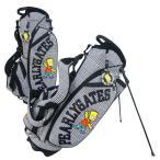 【NEW】PEARLYGATES パーリーゲイツwithシンプソンズ グレンチェックスタンドバッグ053-6280001