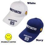 【PREMIUM SALE】PEARLY GATES CLUB SMILY 89 パーリーゲイツ・クラブスマイリー89 限定ツアーキャップ 053-9187473【PXG】【郵送料無料】