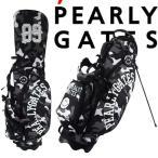 【再入荷】【SMILY-BLACK CAMO】PERLYGATES パーリーゲイツ ブラックカモ柄スタンドバッグ 641-1980100【BLACKCAMO】