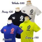 【NEW】PEARLY GATES パーリーゲイツ バックPGロゴライン 吸水速乾・UVカット ソルディフェンダー レディス半袖モックシャツ =JAPAN MADE= 055-0167506/20B