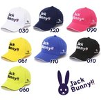 【NEW】Jack Bunny!! by PEARLY GATES ジャックバニー!! ニューロゴスタイル 定番系ツイルキャップ 262-1987140/21A【TO-BASIC】
