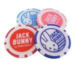 【NEW】Jack Bunny!! by PEARLY GATES ジャックバニー ラビットフェイスカジノチップ BIGマーカー 262-7984005/17D【郵送料無料】