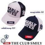 【WEB限定・NEW】PEARLY GATES PGM4G THE! CLUB SMILY パーリーゲイツ クラブスマイリーWEB限定 メッシュキャップ 641-0987014/20B【PG-EDITION】