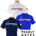 【NEW・WEB限定】PEARLY GATES POP & TRAD パーリーゲイツ メンズ 半袖モックシャツ =JAPAN MADE= 641-1967102/21A【PG-EDITION】