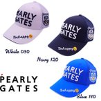 【NEW・WEB限定】PEARLY GATES POP & TRAD パーリーゲイツ Be happy!2段ロゴ メッシュキャップ 641-1987100/21B【PG-EDITION】