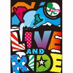 12-13 DVD snow FANTASISTA LIVE and RIDE  (htbs0100) スノーボード ムービー