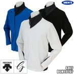 ショッピングデサント デサントゴルフ メンズ ウインドジャケット アシンメトリーデザイン DGM4016F