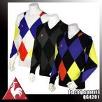 ルコックスポルティフゴルフ  le coq sportif GOLF COLLECTION セーター QG4201 N151 N151 ブラック  L
