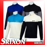 スリクソン バイ デサント ハーフジップセーター 切替デザイン 松山英樹プロ着用モデル SRM2097Y