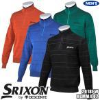 スリクソン  セーター RGMMJL02 メンズ ブラック 日本 M  日本サイズM相当