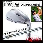 【2017年モデル】本間ゴルフ ツアーワールド TW-Wフォージドウェッジ (軟鉄鍛造) ダイナミックゴールドシャフト
