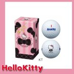ブリヂストンゴルフ ハローキティ ゴルフボール2個 G8J16Z ボールギフト ニューイングスーパーソフトフィール