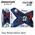 【数量限定品】【USモデル】 ブリヂストンゴルフ TOUR B XS 2020年モデル タイガーウッズ エディション ゴルフボール 1 ダース [12球入り]