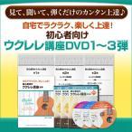 【ウクレレ講座3弾セット】古川先生が教える初心者向けウクレレ講座DVD 第1弾・2弾・3弾セット