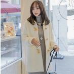 ショッピングダッフル ダッフルコート レディースコート 長袖 レディース 冬 大きいサイズ アウター ロングコート