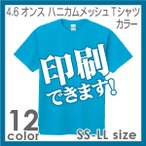 Printstar ハニカムメッシュTシャツ カラー S〜LL