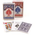 『BICYCLEバイスクル BICYCLE マジックトランプ マジシャン愛用 1個 バイシクル 手品 』青または赤どちらか1つのお値段です。