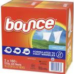 バウンス ドライシート320枚(160枚×2個) Bounce DryerSheet  乾燥機用衣類柔軟剤