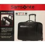 【SamsNite】サムソナイトビジネスバッグ PFT MOBILE OFFICE キャスター付 ビジネスバッグ 2輪キャリーバッグ 機内持込可