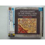 English Songs of the Middle Ages / Sequentia // CD
