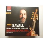 Music in Europe 1550-1650 / Hesperion XX, Jordi Savall : 5 CDs // CD