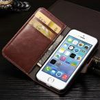 Yahoo!GOOD TIME STORE半額 スマホカバー iPhone 5 5S スタンド機能 カードホルダー付 手帳型 シンプル お買い得