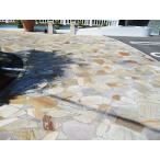 乱形石 お庭のガーデニング DIYもOK アルビノイエロー (RK07PC) 0.5平米セット (0.25平米×2パック)