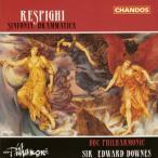 レスピーギ:劇的交響曲 ダウンズ / BBCフィルハーモニック[CD]