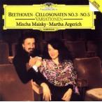 【メール便送料無料】ベートーヴェン:チェロ・ソナタ第3番・第5番 / 「魔笛」の主題による2つの変奏曲 マイスキー(VC)アルゲリ