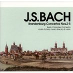 J.S.バッハ:ブランデンブルク協奏曲第2番〜第5番 ショルツ(VN,指揮) ベルリンco.[CD]