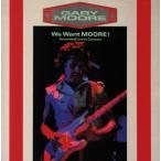 ゲイリー・ムーア / ウィ・ウォント・ムーア(CD) (2015/5/20)