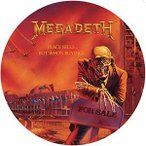 Megadeth / Peace Sells: But Who's Buying (Picture Disc)【輸入盤LPレコード】(メガデス)